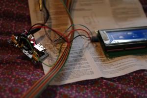 LCD anschliessen