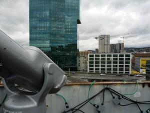 Aussicht vom Freitag Tower