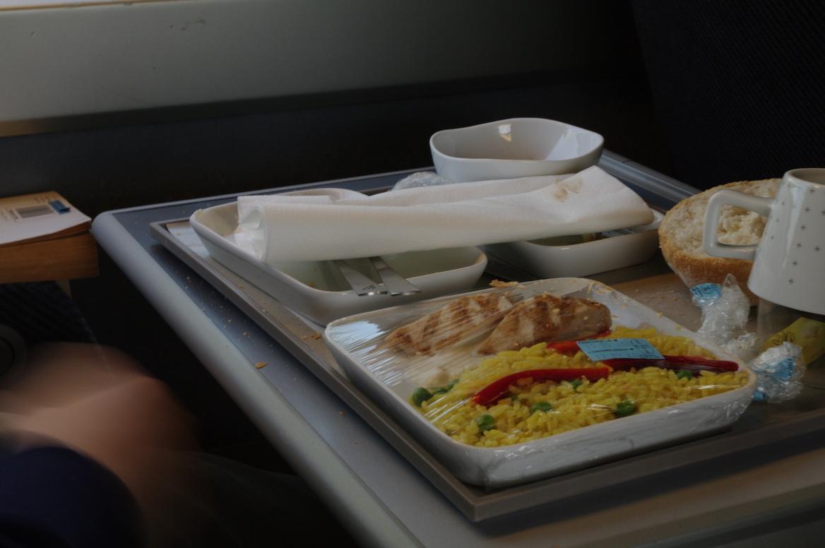 Essen im TGV