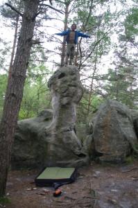 king of the boulder