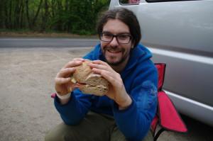 grosses Sandwich